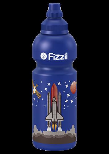 Fizzii Kindertrinkflasche 600 ml Weltraum
