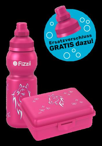Fizzii Set Mini Pferd, Pink