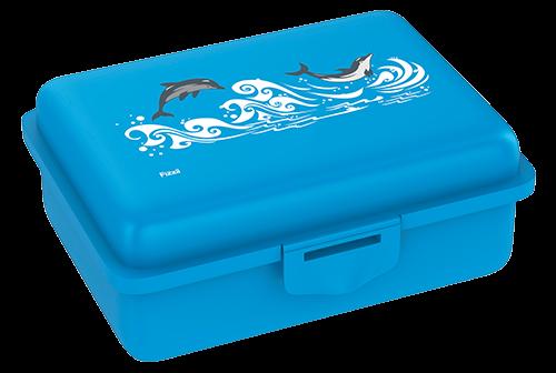 Fizzii Delfin, Lunchbox Cyan mit Trennfach