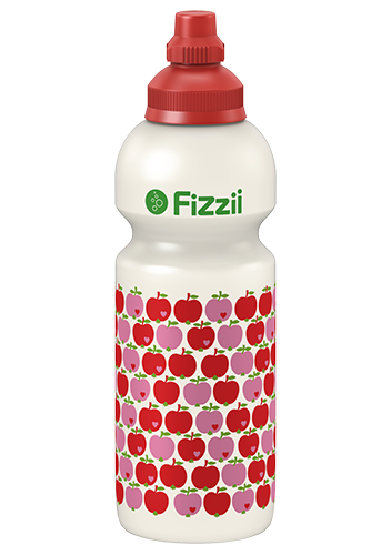 Fizzii Kindertrinkflasche 600 ml Äpfel byGraziela