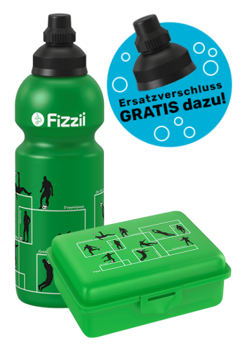 Fizzii Set Spielzüge Fußball, Grün