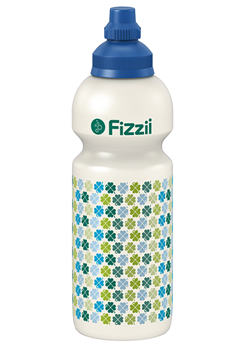 Fizzii Kindertrinkflasche 600 ml Kleeblätter byGraziela
