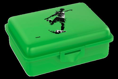 Fizzii Kicker, Lunchbox Grün mit Trennfach