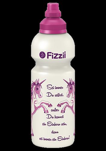 Fizzii Trinkflasche 600 ml Einhorn
