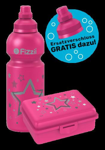Fizzii Set Sterne, Pink