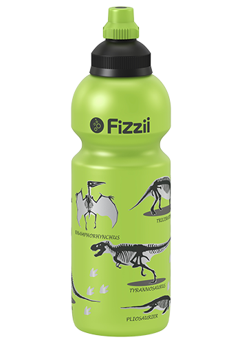 Fizzii Kindertrinkflasche 600 ml Dino