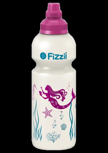 Fizzii Kindertrinkflasche 600 ml Meerjungfrau