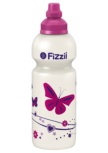 Fizzii Kindertrinkflasche 600 ml Schmetterling