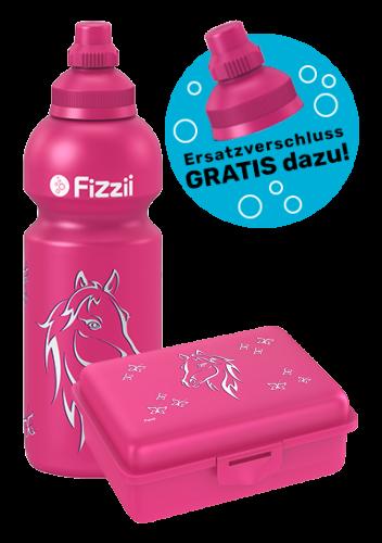 Fizzii Set Pferd, Pink