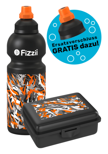 Fizzii Set Graffiti, Schwarz