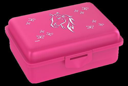Fizzii Pferd, Lunchbox Pink mit Trennfach
