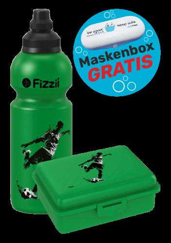 Fizzii Set Kicker, Grün mit Maskenbox