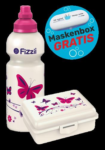 Fizzii Set Schmetterling mit Maskenbox