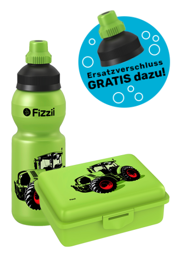 Fizzii Set Mini Trecker, Kiwi