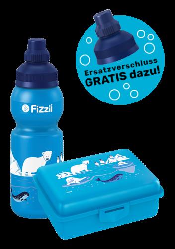 Fizzii Set Eiswelt, Cyan