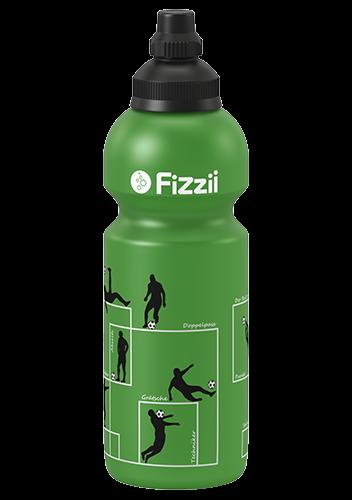 Fizzii Kindertrinkflasche Grün 600 ml Spielzüge